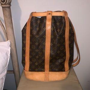Louis Vuitton Randonnee Backpack/Shoulder Bag